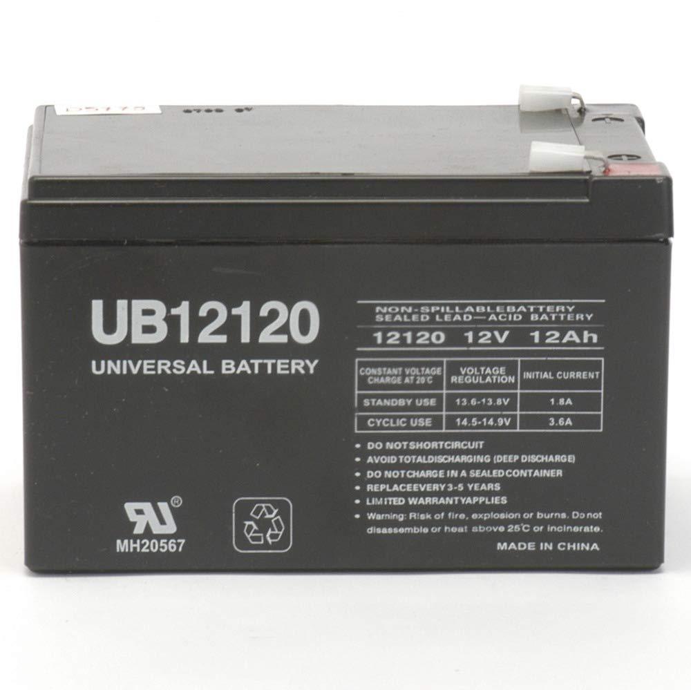 Universal Power Group 12V 12Ah Battery Mega Motion Travel Pal 3-Wheel Scooter MM111B