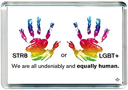 Gay Lesbian Transsexual Bisexual Bi Lgbt Sexy Fridge Magnet Quotes Saying Gift Present Novelty Amazon Co Uk Kitchen Home