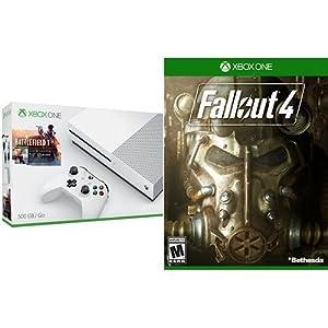 Xbox One S 500GB Console - Battlefield 1 Bundle + Fallout 4