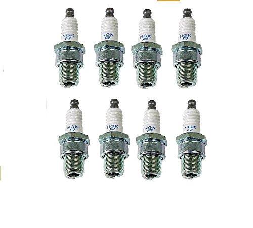 Set of 8 Spark Plug NGK Resistor ()