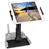 Tablet Stand Holder Ipad Mount Bracket for DJI Mavic Air/Mavic Pro, DJI Spark Remote Controller Upgraded 360 Degree Rotating