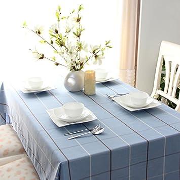 Nappe salle de manger rectangulaire Tabgw coton à drap WEe2HY9ID