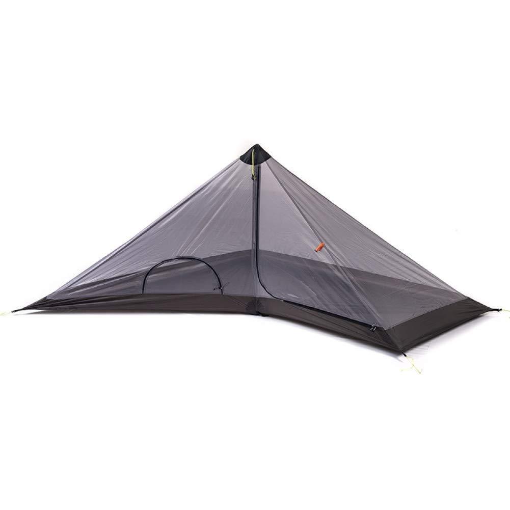 Ashuang Tente Personne Seule Aucun Pôle Ultralight Pyramid Randonnée en Plein air Camping Tentes a2 -