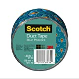 Scotch Scotch Duct Tape, Blue Peacock, 1.88-Inch x 10-Yard