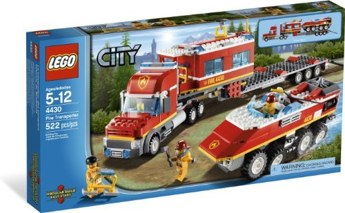 Fire Transporter - LEGO CITY Fire Transporter 4430