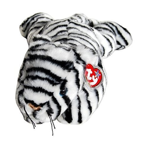 Ty Beanie Buddies - Blizzard the White Tiger
