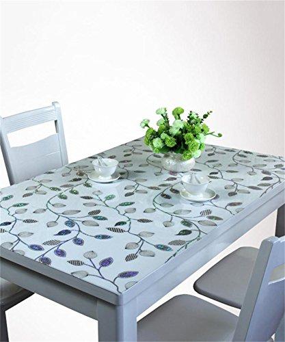 Tavolo Rettangolare In Vetro.Liangliang Personalizzato Morbida Di Vetro Del Pvc Tovaglia Tavolo