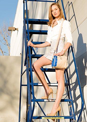 Nikon Cameras Pack DSLR Women's Blue Bag Accessory Gadget Fits Bag Zoom Shoulder SLR Lens Crossbody qqHwIp