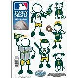 MLB Oakland Athletics Small Family Decal Set