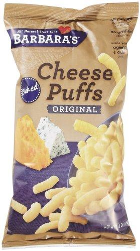 Barbara's Bakery Baked Cheese Puffs Original, 5.5 oz, 12 pk