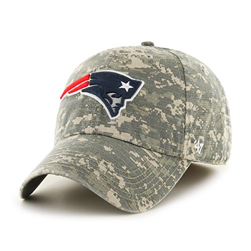 NFL New England Patriots Officer Franchise Fitted Hat, X-Large, Digital (Hat New Camouflage Camo)