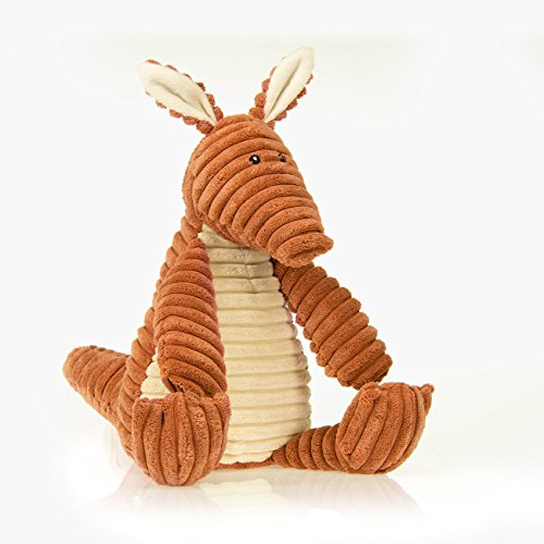 - Sweet Potato Large Plush Aardvark with Cream Belly