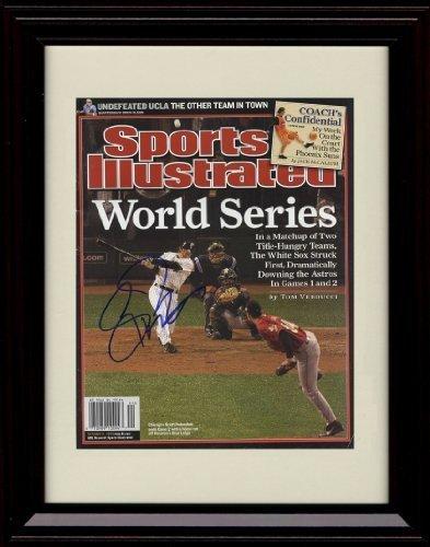 フレーム入りスコットposednik Sports Illustrated Autographレプリカ印刷 – World Champs 。   B01N2H0ZWB