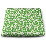 TRUSTINEE Nature Garden Decor Clovers Office Breathable Square Chair Pads (14.9613.861.22)