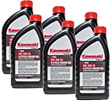 Kawasaki 99969-6081 Pack of 6 Quarts 4 Cycle Engine Oil 10W-30