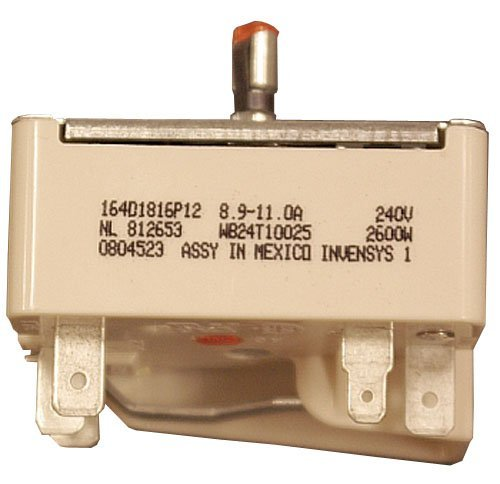 GE Range Infinite Switch WB24T10025, for 8 inch units ()
