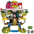Teenage Mutant Ninja Turtles Half Shell Heroes Half Shell Headquarters Playset