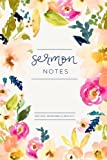 My Sermon Notes Journal: An Inspirational Worship Tool To Record, Remember And Reflect: Modern Calligraphy and Lettering