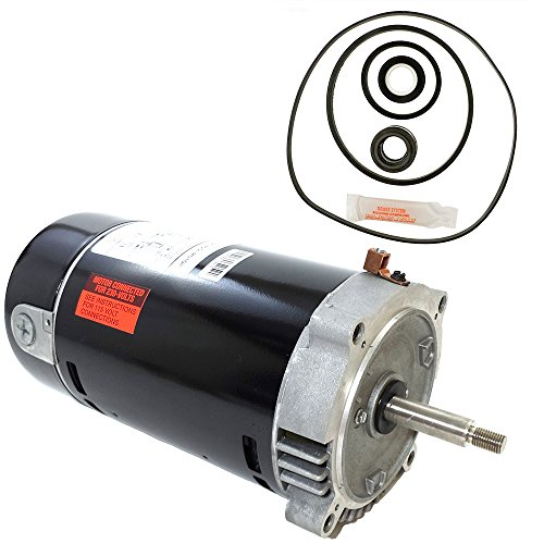 (Century UST1102 1-Horsepower Up-Rated Round Flange Replacement Motor (Formerly A.O. Smith))