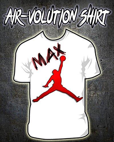 Personalized Airbrushed Jordan Logo Shirt ()