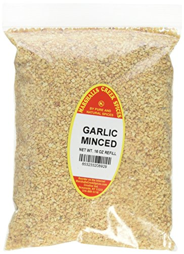 Marshalls Creek Spices Kosher Garlic Minced Refill, 16 Ounce by Marshall's Creek Spices