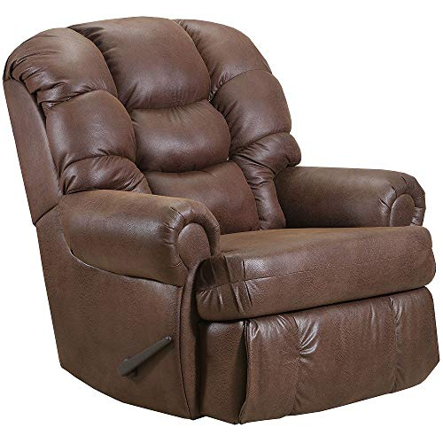 (1407-04-22 Lane Stallion Big Man (Large) Comfort King Wallsaver Recliner. Made for The Big Guy Or Gal. Rated for Up to 500 Lbs. Extended Length. 79