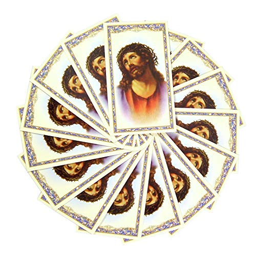 Religious St Gertrude Holy Prayer Cards, Pack of 100