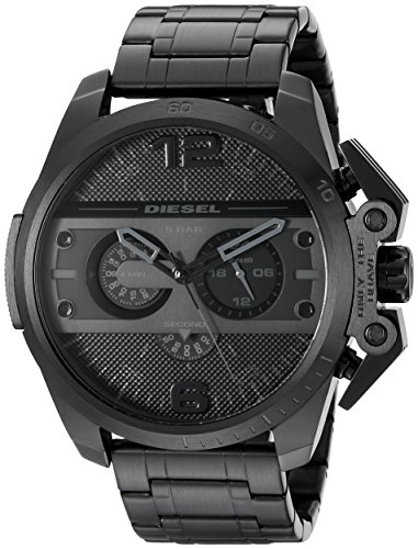 - Diesel Men's DZ4362 Ironside Black Ion-Plated Stainless Steel Watch