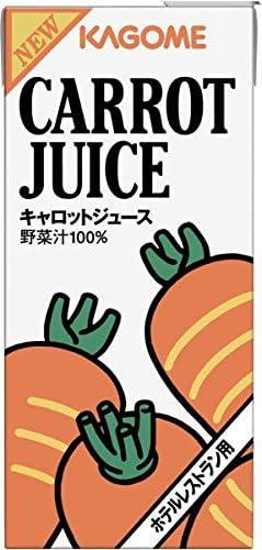 カゴメ キャロットジュース 1L紙パック 6本入