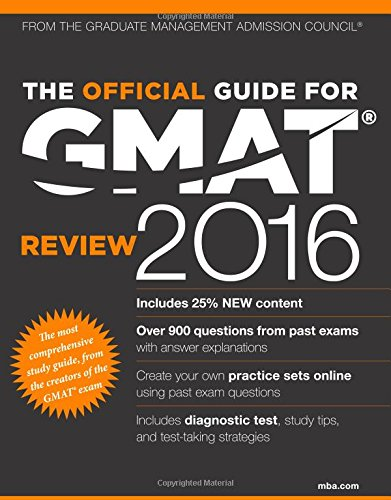 The Official Guide for GMAT Review 2016 with Online Question Bank and Exclusive Video
