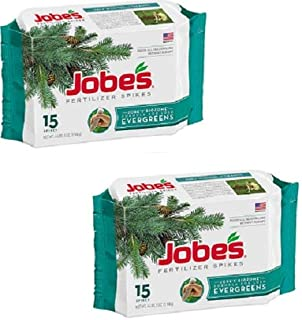 product image for Jobes 01611 15 Pack Evergreen Tree Fertilizer Spikes - Quantity 2 Packages