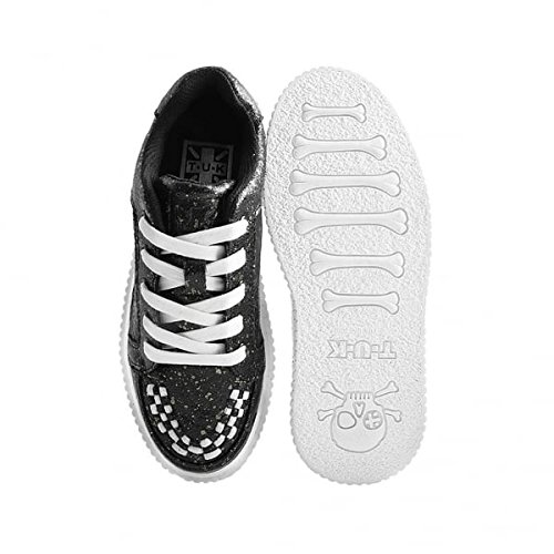 Shoes Creeper Et Chrome Noir k u Splatter T Casbah Féminin Paint B7zq4Ow