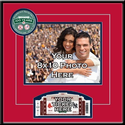 Fenway Park 100th Anniversary Game 8x10 Photo Ticket Frame