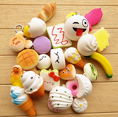 Squishy Toys Big W : Toys Random 20pcs Squishy Slow Rising Jumbo Mini Soft Toy Squishy Cake/Panda/Bread/Bun-s Phone ...