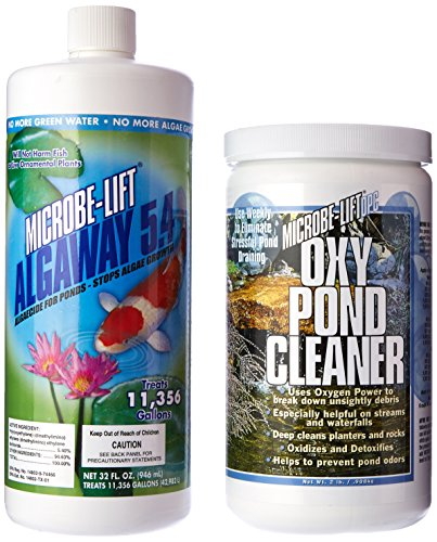 Cleaner Oxy Pond (Ecological Labs OPC54SM Agway 5.4 and Oxy Pond Cleaner Pack, 32-Ounce)