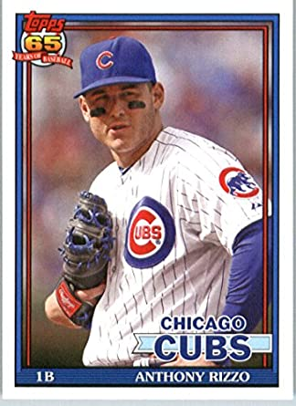 Amazoncom 2016 Topps Archives 248 Anthony Rizzo Chicago