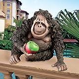 Design Toscano Oswald the Baby Orangutan Statue