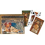 Mucha: Hyacinta - Double Deck Playing Cards