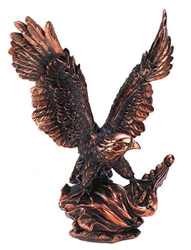 Gifts & Decor Majestic Eagle in Flight Bird Statue Figure Home Decor - Majestic Flight Eagle