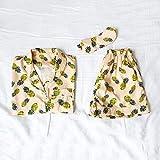 Pineapple Pajamas Gift Set in Pale Blush
