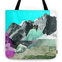Society6 Experiment Am Berg 8 Tote Bag