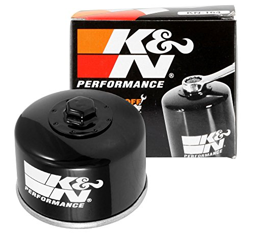 KN-164 K&N Performance Oil Filter; POWERSPORTS; CANISTER (Powersports Oil Filters):