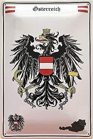 Blechschild 30 X 20 cm Wappen Saarland Deutschland