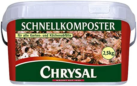 Chrysal - Compostador rápido (2, 5 kg): Amazon.es: Jardín