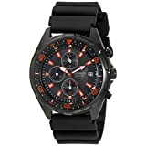 Casio Men's AMW370B-1A1 Black Analog Multi-Function Watch