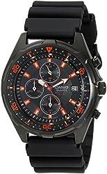 Casio Men's Black Analog Multi-Function Watch