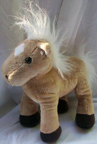"9"" Plush Brown Horse Unicorn Doll Toy"