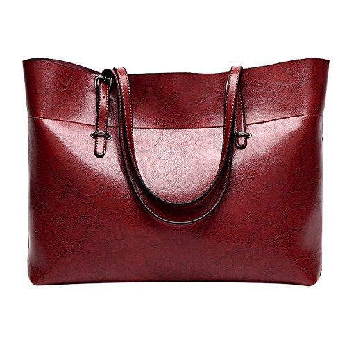 Rouge vin Ls Les La Pour Main Sac Mode Rouge Vin Messenger Sodial De A Sacs Femmes Bandouliere qafWFpw