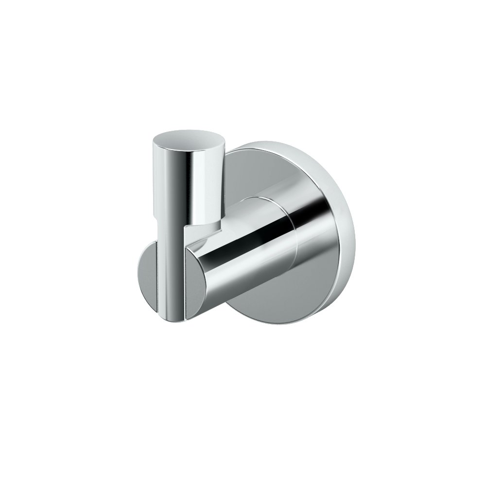Gatco 4685 Channel Single Robe Hook, Chrome