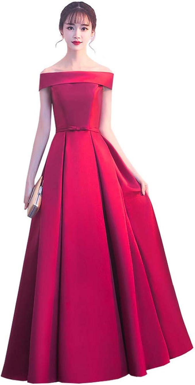BINGQZ Damen/Elegant Kleid/Cocktailkleider Einfaches langes